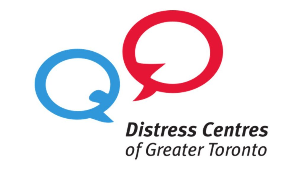 distress centres of greater Toronto logo