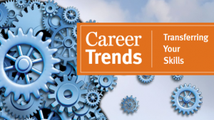 career trends with gear cogs graphic