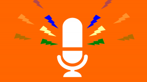 microphone icon graphic