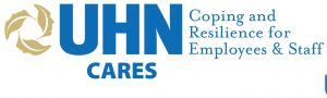 UHN CARES Coping and Resilience for Employees and Staff logo
